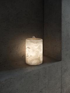 Atelier Alain Ellouz Lyra Alabaster Table Lamp by Atelier Alain Ellouz - 1692876