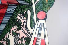 Atelier Fornasetti Mid Century Hollywood Regency Fornasetti Umbrella Stand Hot Air Balloon Motif - 945613