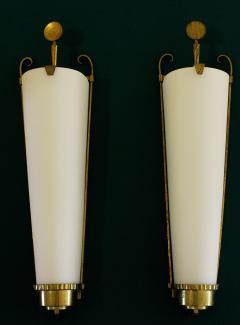 Atelier Petitot Important Pair of Sconces by PETITOT 1930 - 778124