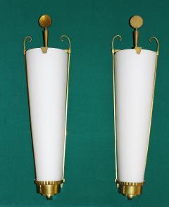 Atelier Petitot Important Pair of Sconces by PETITOT 1930 - 778125
