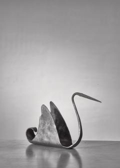 Atelier de Marolles Jean Touret zoomorphic iron sculpture France 1950s - 1257903