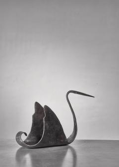 Atelier de Marolles Jean Touret zoomorphic iron sculpture France 1950s - 1257904