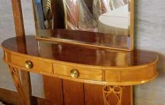 Atilio Fagioli Italian Mirrored Console 1940s Neo Classical Atilio Fagioli Florence Italy - 2073324