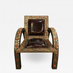 Atlas Showroom Armchair Royal Style Camel Bone - 1031178
