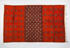 Atlas Showroom Berber Large Rug Handmade in Morocco with Abstract Flourishes - 1156582