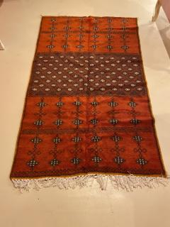 Atlas Showroom Berber Large Rug Handmade in Morocco with Abstract Flourishes - 1156584