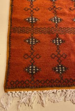 Atlas Showroom Berber Large Rug Handmade in Morocco with Abstract Flourishes - 1156585