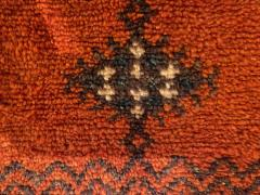 Atlas Showroom Berber Large Rug Handmade in Morocco with Abstract Flourishes - 1156587