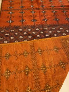 Atlas Showroom Berber Large Rug Handmade in Morocco with Abstract Flourishes - 1156589