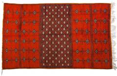 Atlas Showroom Berber Large Rug Handmade in Morocco with Abstract Flourishes - 1156909