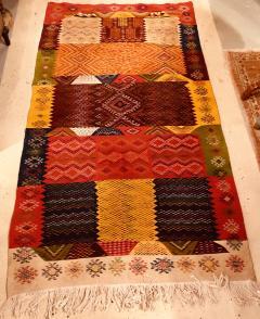Atlas Showroom Berber Medium Rug Handwoven Wool with Organic Multicolor Dye - 1147891