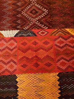 Atlas Showroom Berber Medium Rug Handwoven Wool with Organic Multicolor Dye - 1147892