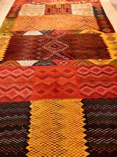 Atlas Showroom Berber Medium Rug Handwoven Wool with Organic Multicolor Dye - 1147895