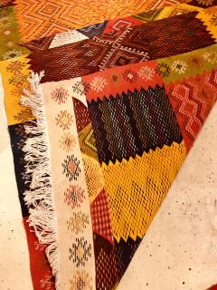 Atlas Showroom Berber Medium Rug Handwoven Wool with Organic Multicolor Dye - 1147906