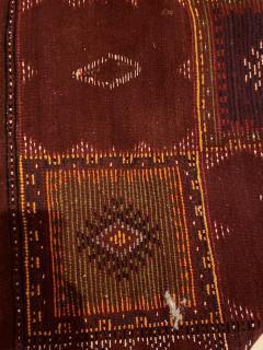 Atlas Showroom Berber Medium Rug Handwoven in Morocco with Polychrome Panels - 1156746