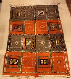 Atlas Showroom Berber Medium Rug Tribal Handwoven Wool 100 Organic Dye - 1148006