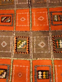 Atlas Showroom Berber Medium Rug Tribal Handwoven Wool 100 Organic Dye - 1148008