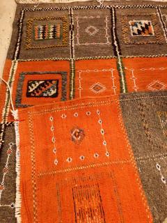 Atlas Showroom Berber Medium Rug Tribal Handwoven Wool 100 Organic Dye - 1148011