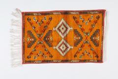 Atlas Showroom Berber Rug Handwoven X Pattern and Diamond Center - 1154439