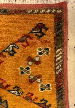Atlas Showroom Berber Rug Handwoven X Pattern and Diamond Center - 1154441