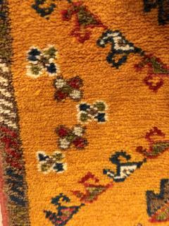 Atlas Showroom Berber Rug Handwoven X Pattern and Diamond Center - 1154444
