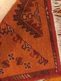 Atlas Showroom Berber Rug Handwoven X Pattern and Diamond Center - 1154446