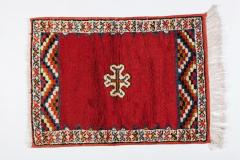 Atlas Showroom Berber Rug Small Handwoven Wool with Organic Dyes - 1156869