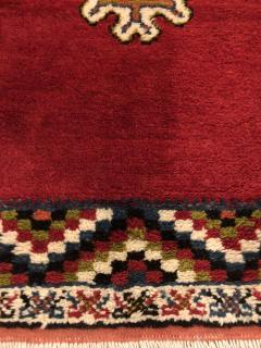Atlas Showroom Berber Rug Small Handwoven Wool with Organic Dyes - 1156872