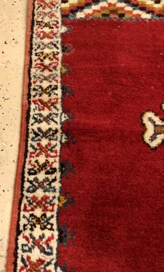 Atlas Showroom Berber Rug Small Handwoven Wool with Organic Dyes - 1156875