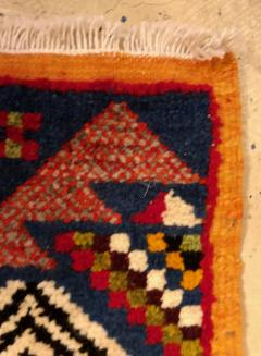 Atlas Showroom Berber Small Rug Handwoven with Abstract and Geometric Designs - 1154208