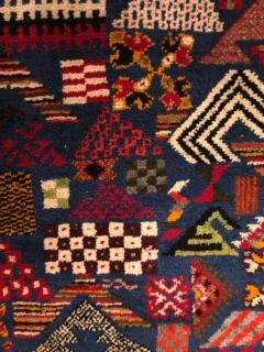 Atlas Showroom Berber Small Rug Handwoven with Abstract and Geometric Designs - 1154211