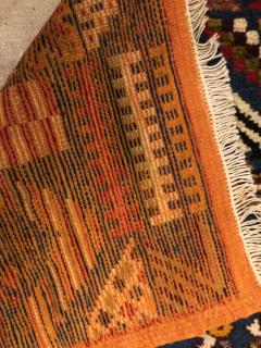 Atlas Showroom Berber Small Rug Handwoven with Abstract and Geometric Designs - 1154213