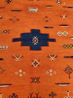 Atlas Showroom Berber Tribal Handwoven Wool Rug Medium - 1145063