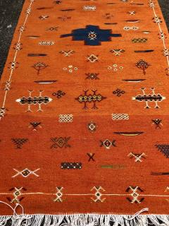 Atlas Showroom Berber Tribal Handwoven Wool Rug Medium - 1145064
