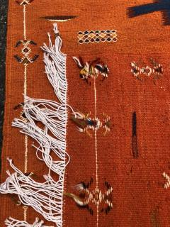 Atlas Showroom Berber Tribal Handwoven Wool Rug Medium - 1145065