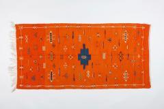 Atlas Showroom Berber Tribal Handwoven Wool Rug Medium - 1145660