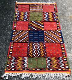 Atlas Showroom Berber Tribal Moroccan Handwoven Wool Rug - 1145078