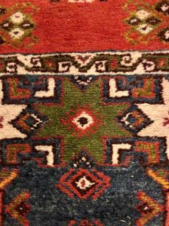 Atlas Showroom Berber Tribal Moroccan Multicolor Wool Runner Rug - 1145112