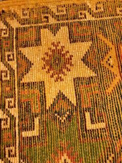 Atlas Showroom Berber Tribal Moroccan Multicolor Wool Runner Rug - 1145114