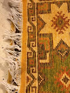 Atlas Showroom Berber Tribal Moroccan Multicolor Wool Runner Rug - 1145115