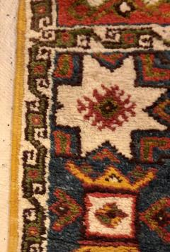Atlas Showroom Berber Tribal Moroccan Multicolor Wool Runner Rug - 1145116