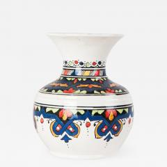 Atlas Showroom Blue Moroccan Handmade Small Vase - 1106763
