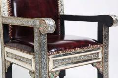 Atlas Showroom Moroccan Idrisid Pair of Chairs - 1030961