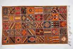 Atlas Showroom Moroccan Large Rug Handwoven Wool with Geometric Designs - 1156577