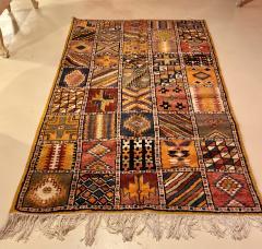 Atlas Showroom Moroccan Large Rug Handwoven Wool with Geometric Designs - 1156578