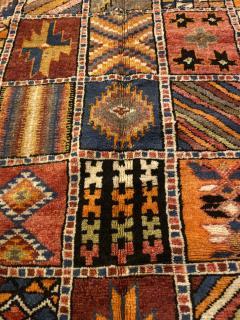 Atlas Showroom Moroccan Large Rug Handwoven Wool with Geometric Designs - 1156579