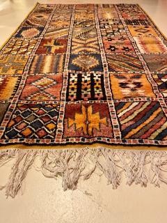 Atlas Showroom Moroccan Large Rug Handwoven Wool with Geometric Designs - 1156580