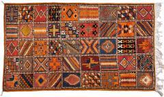 Atlas Showroom Moroccan Large Rug Handwoven Wool with Geometric Designs - 1156908