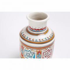 Atlas Showroom Moroccan Multicolor Handcrafted Ceramic Vase - 1063425