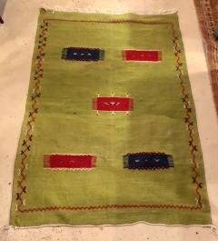 Atlas Showroom Moroccan Rug Berber Tribal Handwoven Wool with Organic Dye - 1145154